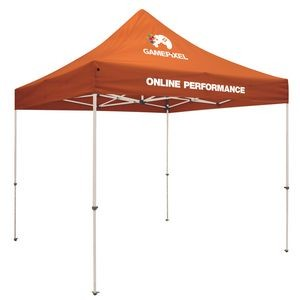 10' Standard Tent Kit (Full-Color Imprint, 2 Locations)