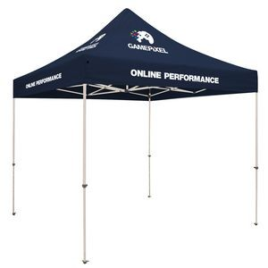 10' Standard Tent Kit (Full-Color Imprint, 4 Locations)