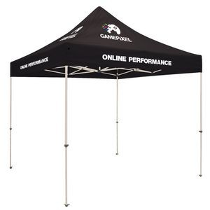 10' Standard Tent Kit (Full-Color Imprint, 8 Locations)