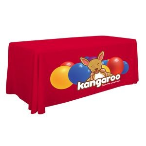 6' Standard Table Throw (Full-Color Front Only) .